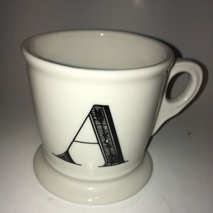 Anthropologie A monogram mug